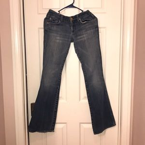 Vintage 7 for All Mankind light washed jeans sz 26